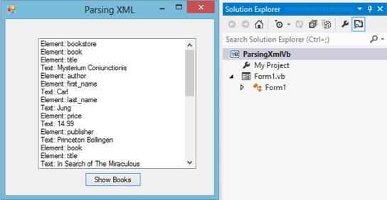 Parsing XML