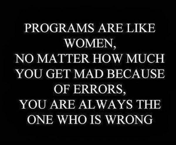Programs-are-like-women